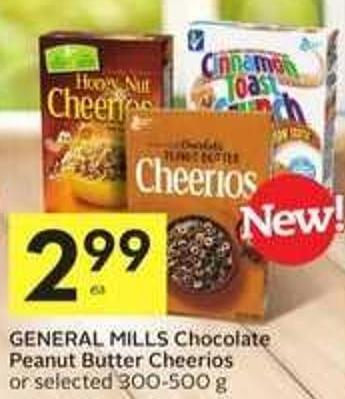 General Mills Chocolate Peanut Butter Cheerios