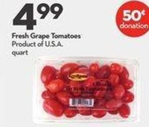Fresh Grape Tomatoes