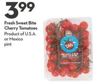 Fresh Sweet Bite Cherry Tomatoes