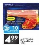 Butterball Turkey Bacon - 10 Air Miles Bonus Miles