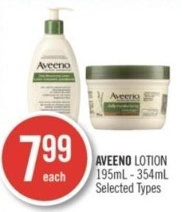 Aveeno Lotion 195ml - 354ml