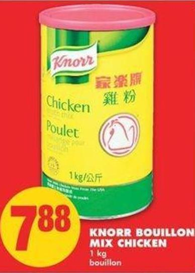 Knorr Bouillon Mix Chicken.1 Kg