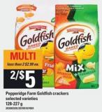 Pepperidge Farm Goldfish Crackers - 128-227 g