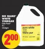 No Name White Vinegar - 4l