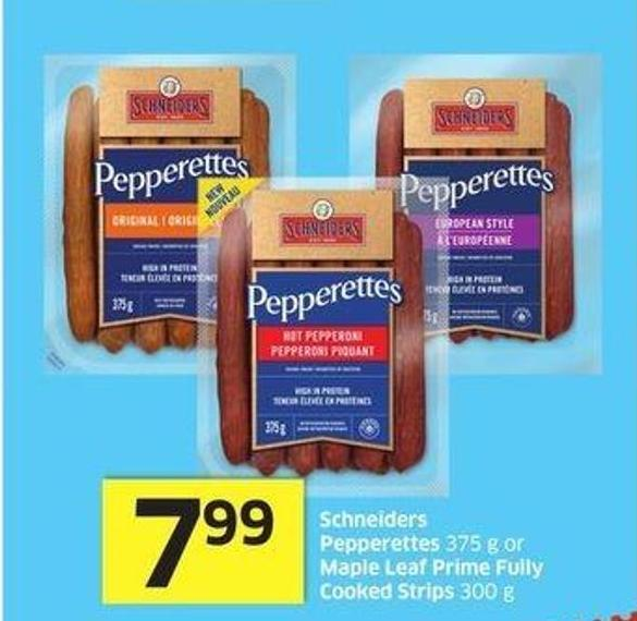 Schneiders Pepperettes 375 g or