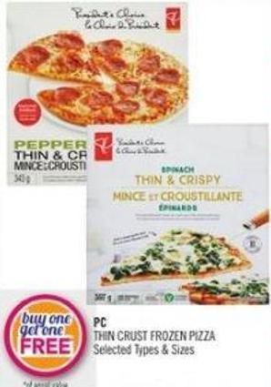 PC Thin Crust Frozen Pizza