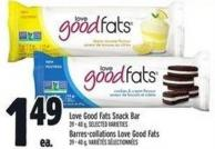 Love Good Fats Snack Bar 39 - 40 g