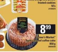 Farmer's Market Apple Caramel Coffee Cake - 850 g