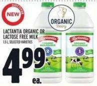 Lactantia Organic Or Lactose Free on sale | Salewhale ca