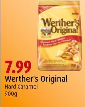 Werther's Original Hard Caramel 900g