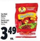 Sun-maid Raisins 14 X 14 g