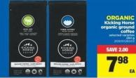 Organic Kicking Horse Organic Ground Coffee - 284 g