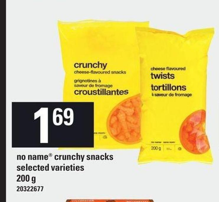 No Name Crunchy Snacks - 200 g