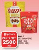 Nestlé Cello Chocolate 135g - 203g