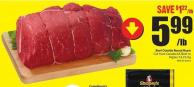 Beef Outside Round Roast Cut From Canada Aa Beef or Higher 13.21/kg