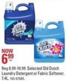 Selected Old Dutch Laundry Detergent or Fabric Softener