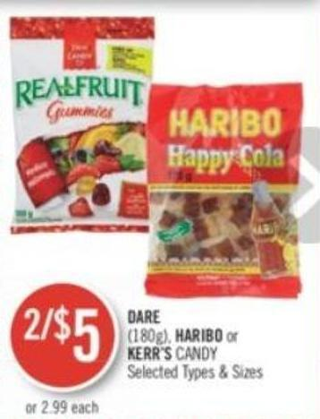 Dare (180g) - Haribo or Kerr's Candy