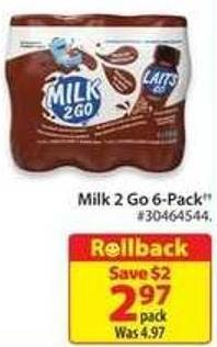Milk 2 Go 6-pack