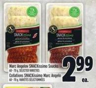Marc Angelo Snackissimo Snacks 60 - 70 g