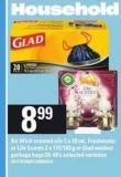 Air Wick Scented Oils 2 X 20 Ml - Freshmatic Or Life Scents 2 X 175/180 G Or Glad Outdoor Garbage Bags 20-40's