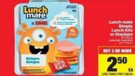 Lunch Mate Simply Lunch Kits Or Stackers - 81-132 g