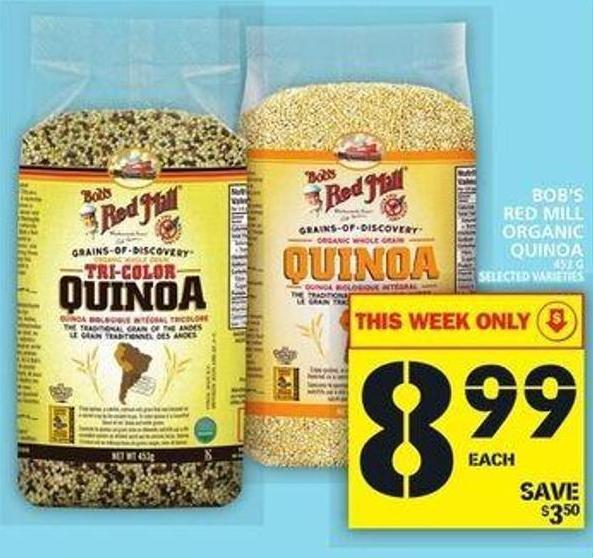 Bob's Red Mill Organic Quinoa