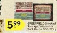 Greenfield Smoked Sausage - 40 Air Miles