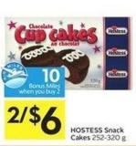Hostess Snack Cakes 252-320 g - 10 Air Miles Bonus Miles