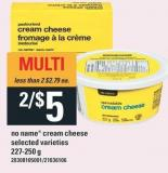 No Name Cream Cheese - 227-250 G