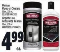 Weiman Wipes Or Cleaners 30 Un. - 230 ml
