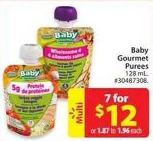 Baby Gourmet Purees
