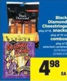 Black Diamond Cheestrings Pkg Of 16 - Snacks Pkg Of 10 Or Combos Pkg Of 3