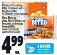 Pillsbury Pizza Pops - Bites Or General Mills Doughnut Bites