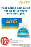 Aleve Pain Relief Products 40's - 200's