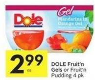 Dole Fruit'n Gels