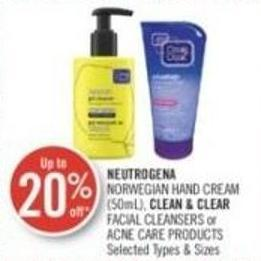 Neutrogena Norwegian Hand Cream (50ml) - Clean & Clear Facial Cleansers or Acne Care Products