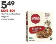 Mary's Gone Crackers 184g Box