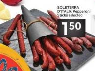 Soleterra D'italia Pepperoni Sticks