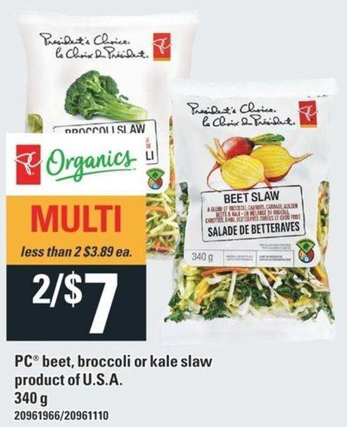 PC Beet - Broccoli Or Kale Slaw - 340 g