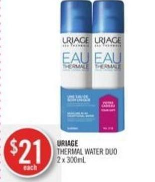Uriage Thermal Water Duo