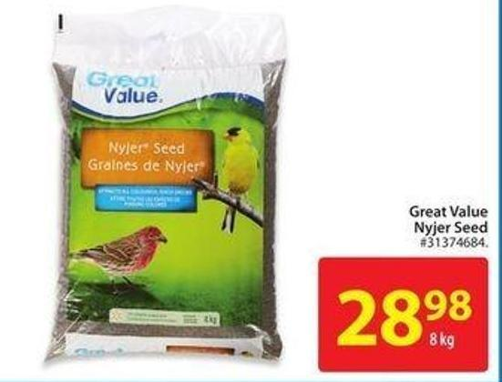 Great Value Nyjer Seed