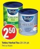 Tetley Herbal Tea 20-24 Pk