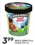Ben & Jerry's Ice Cream 500 ml