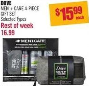 Dove Men + Care 4-piece Gift Set