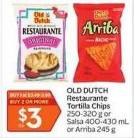 Old Dutch Restaurante Tortilla Chips