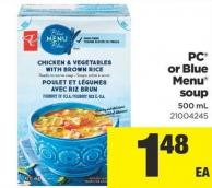PC Or Blue Menu Soup - 500 mL