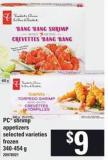 PC Shrimp Appetizers - 340-454 g