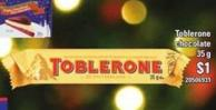 Toblerone Chocolate 35 G