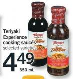 Teriyaki Experience Cooking Sauces - 350 Ml