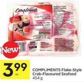 Compliments Flake-style Crab-flavoured Seafood